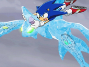 Sonic Riding on Chaos 4