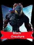Black-Creature card happy