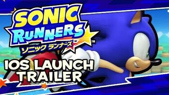 Sonic Runners (iOS & Android) - Launch Trailer
