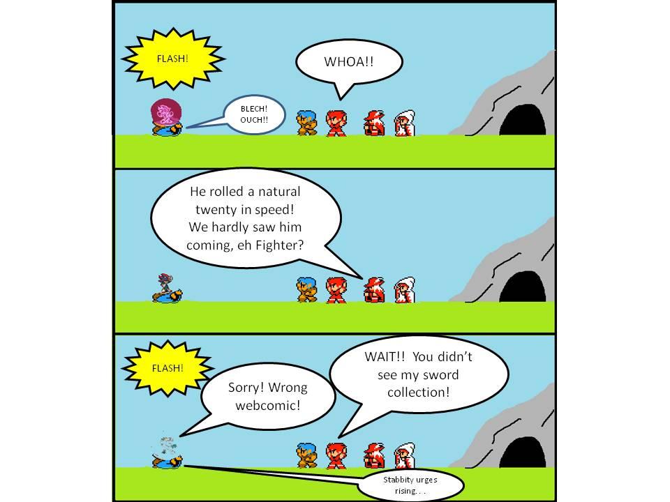 Wrong Comic