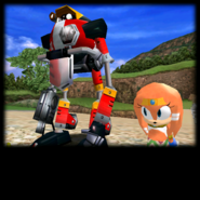 Sonic Adventure Credits (Gamma 08)