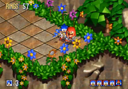 Knuckles in Green Grove Zone