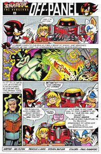 Sonic Universe Issue 4 Off Panel