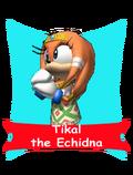 Tikal card happy
