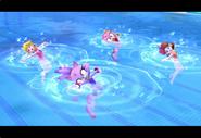 PeachDaisyAmyBlaze London2012 Screenshot 8(Wii)