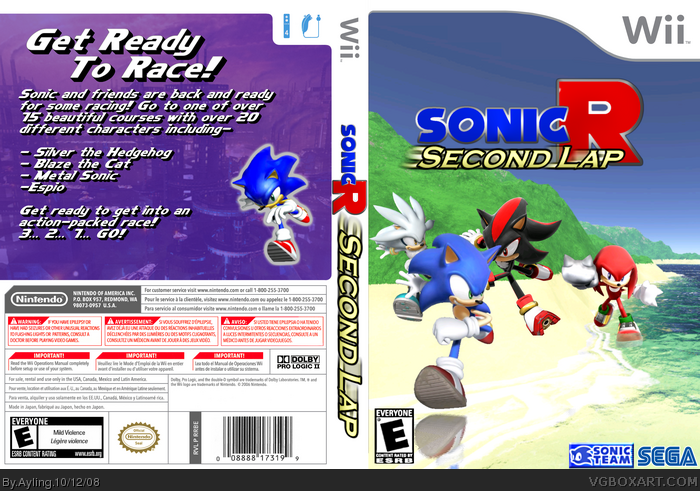 Sonic Games 3 Ayling