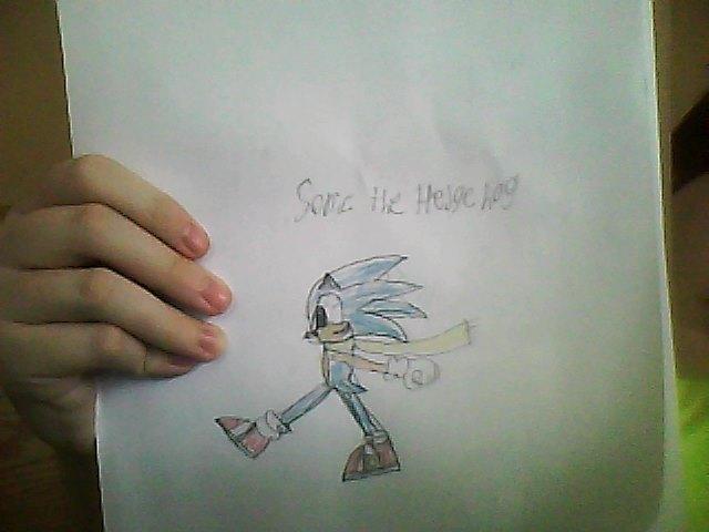 File:Sonic the Hedgehog Drawing.jpg