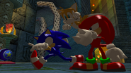 SH Hang Castle Team Sonic Victory