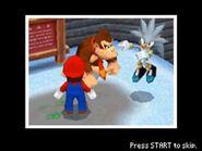 Mario, Silver & Donkey Kong