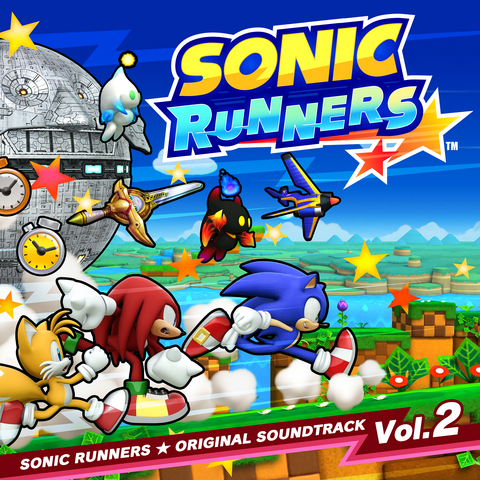 File:Sonic Runners Original Soundtrack Volume 2.png
