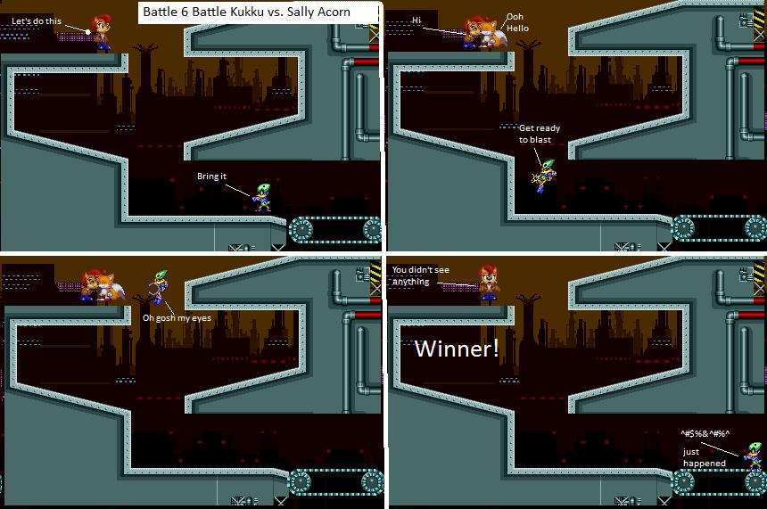 Tournament Battle 6