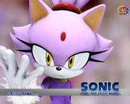 Blaze the Cat Sonic 2006 wallpaper
