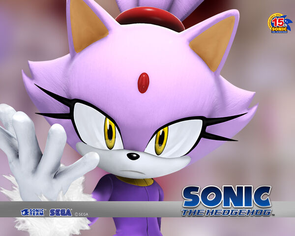 File:Blaze the Cat Sonic 2006 wallpaper.jpg