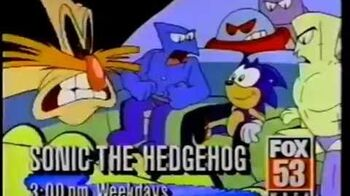Adventures of Sonic the Hedgehog Promo on Fox 1993