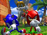 Result Screen - Sea Gate - Team Sonic