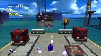 Sonic Adventure 2 (PS3) Metal Harbor Mission 2 A Rank