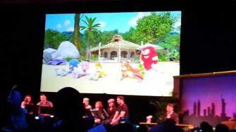Sonic Boom 2014- live cast reading part 1-0
