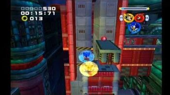 Sonic Heroes Final Fortress (Team Sonic)