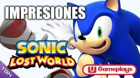 Impresiones Sonic Lost World Wii U Español HD