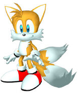 Sonicheroes tails early