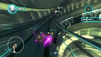 Sonic & All Stars Racing Transformed Sanctuary Falls 1080 HD