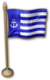 SU Apotos Miniature Flag