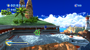 Sonic Generations @ Seaside Hill Homing Attack