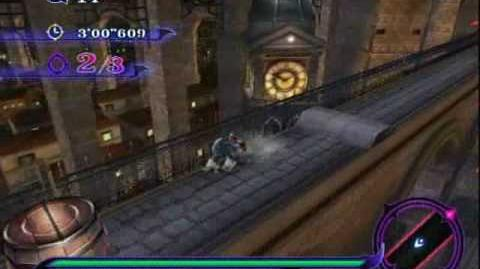 Sonic Unleashed (Wii) - Spagonia Night Stage 3 The Great Aqueduct