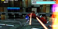 Laser Beam Attack