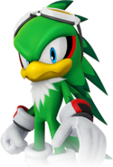 Jet the Hawk (Character Select Artwork) (Mario & Sonic 2016)
