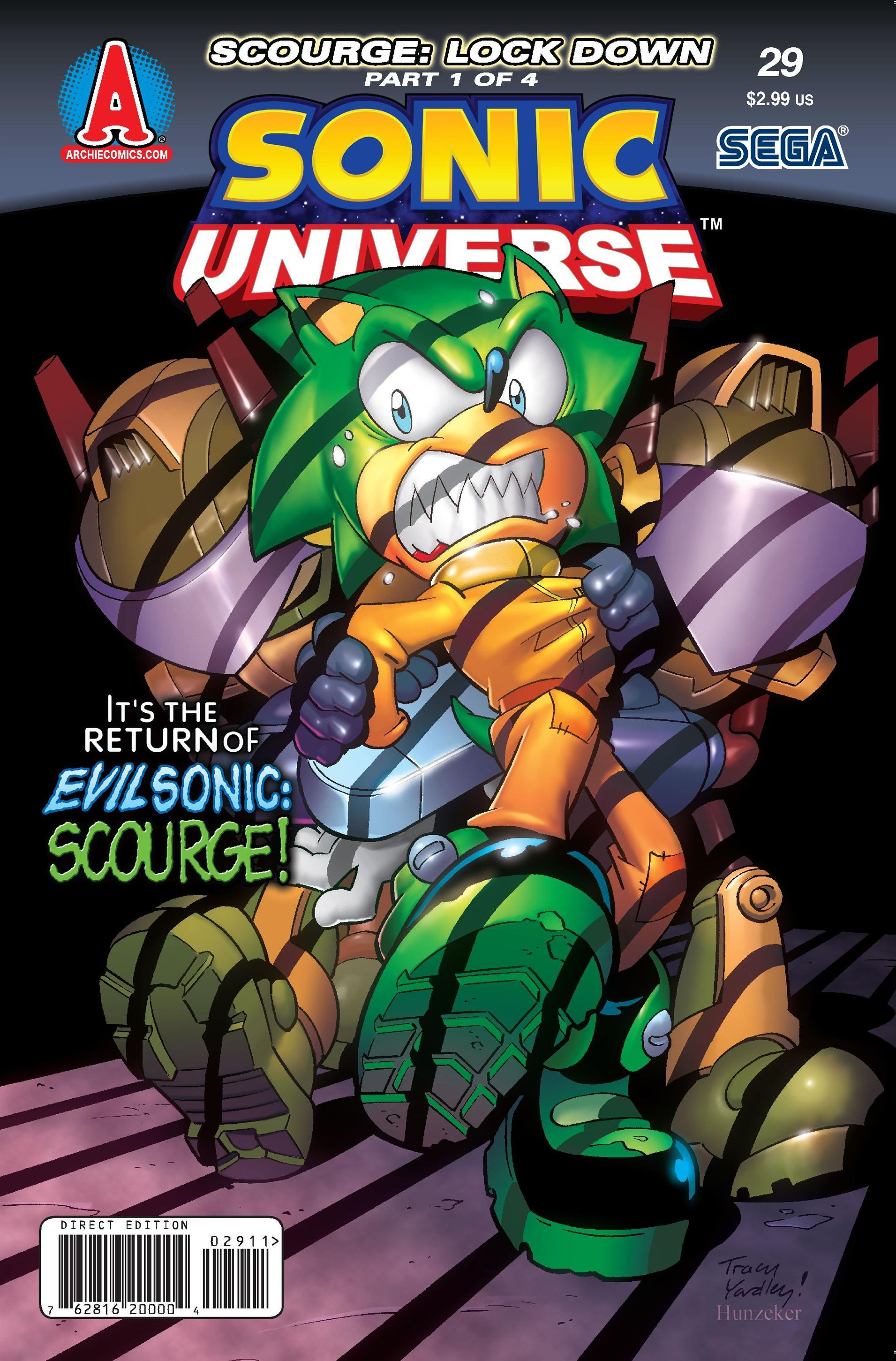 archie sonic universe issue 29 sonic news network