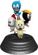 Sonic Generations Animals Statue