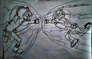 The Battle of Brothers (Sketch)