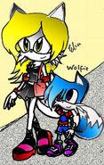 Elia and Wolfie