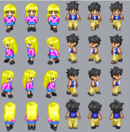 Sharalice sprites