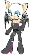 Rouge in new outfit