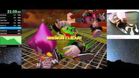 Sonic Heroes Team Chaotix's Story in 52 10.57 WR