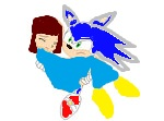 Sonic saves Lucy