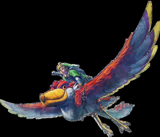 File:Flight Artwork (Skyward Sword).png