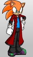 Ricky's look in Sonic Boom