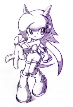 Lilac the dragon girl sketch by r no71 by spacemanstrife-d5g39as
