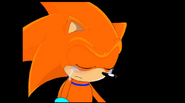 Sora in tears