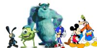 Sonic's Adventures of Monsters Inc.