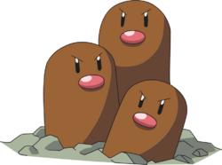 Dugtrio AG anime