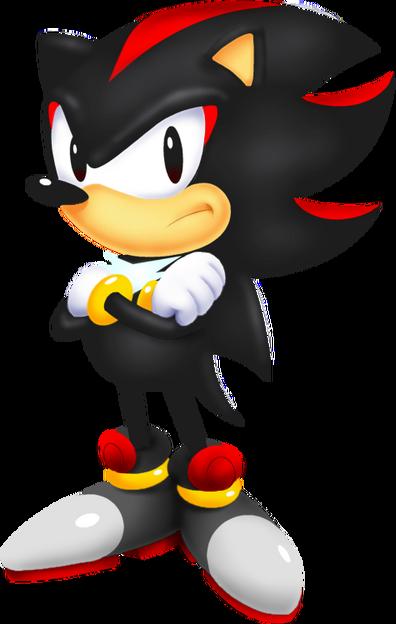 Classic Shadow The Hedgehog