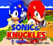 Sonic And Knuckles GEN ScreenShot1