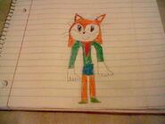 Young Tabitha in school uniform