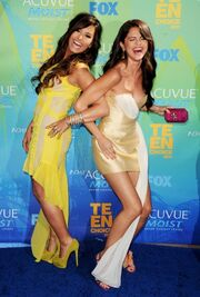 Demi and Selena Laugh It Out