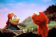 Elmo and Jackhammer Bug