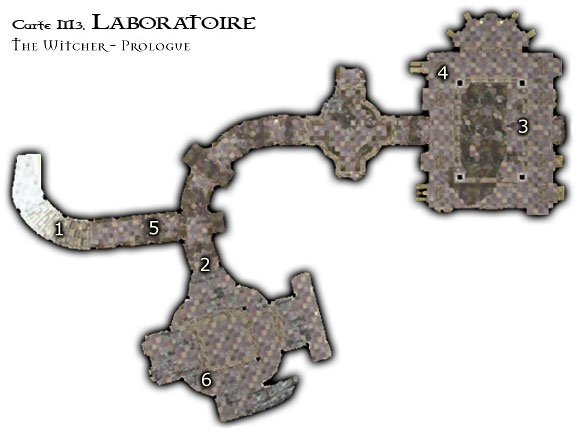 Map M3 - Le Laboratoire